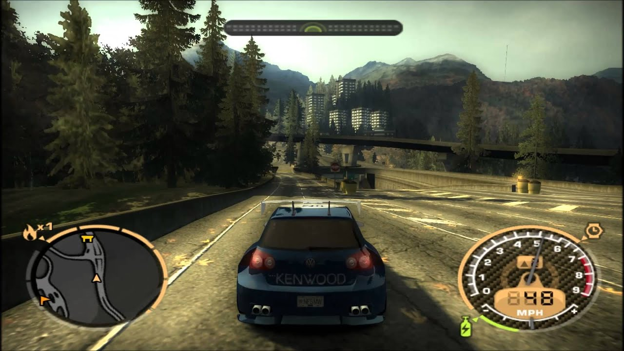 Need For Speed Most Wanted 2005 Gameplay Youtube
