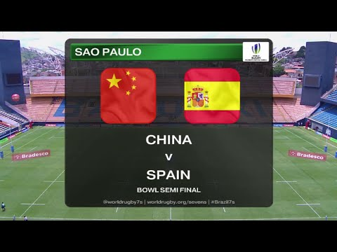 China vs Spain - Rugby Women´s Sevens World Series Sao Paulo 2015