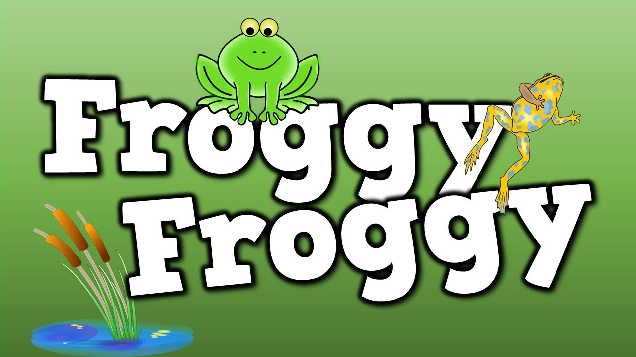 froggy froggy a song for kids about the frog life cycle etc