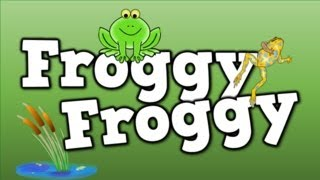 Froggy, Froggy!  (a song for kids about the frog life cycle, etc...)