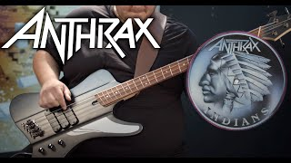 [BASS COVER] Anthrax - Indians