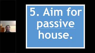 10 Pro Tips To A Low Carbon Home - 5 | Aim For Passive House
