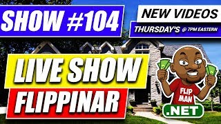 How to Wholesale Real Estate Free Training [LIVE SHOW Flippi...