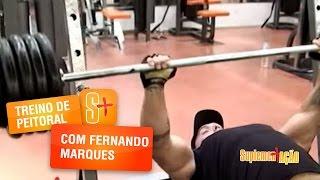 Fernando Marques - Treino de Peitoral