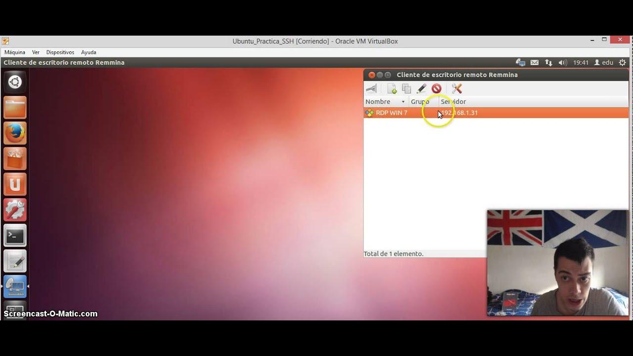 Practica RDP Server Win 7 Clientes Win 8 1 GnuLinux Debian 11 flv