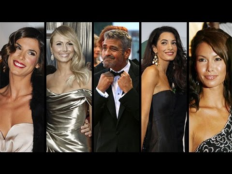 George Clooney's Love Life Before Amal Alamuddin - In 60 Seconds