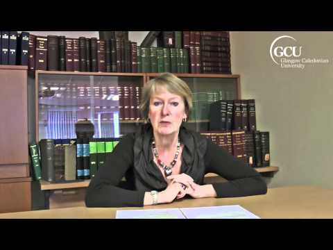 Alison Britton on studying law at Glasgow Caledonian University