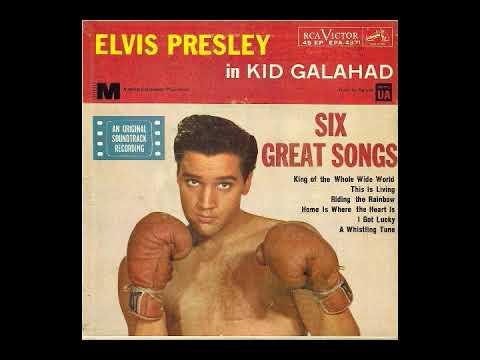 Elvis Presley-Kid Galahad-in warm viynl and stereo sound c 1962
