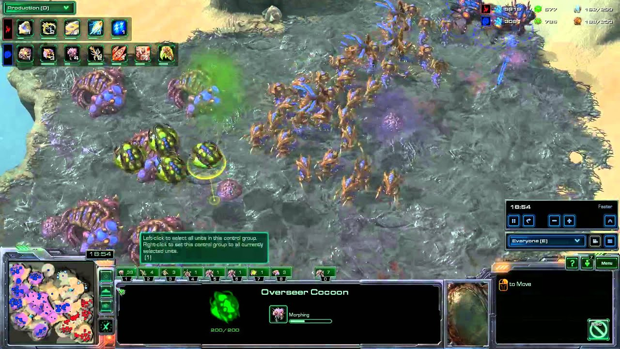 Tempest Terror!! Hyun(Z) vs  IIIIIIIIII(P) - StarCraft: Heart of the Swarm  - #04/2013
