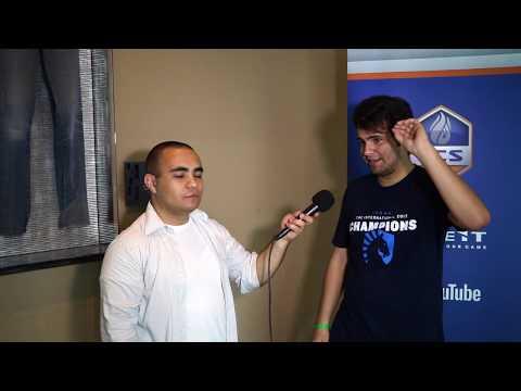Entrevista con Gabe Ruiz pt. I @ ECS S4 Finals