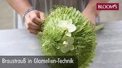 Brautstrauß in Glamelien-Technik | Hochzeitsfloristik | wedding floristry | BLOOM's Floristik