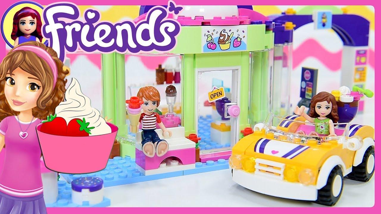 Lego Friends Heartlake Frozen Yoghurt Shop Build Review
