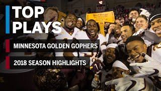 2018 Season Highlights: Minnesota Golden Gophers | Big Ten Football