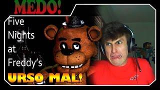 TERROR: URSO FILHO DA MÃE!! SUSTOS! (+14) Five Nights At Freddy's
