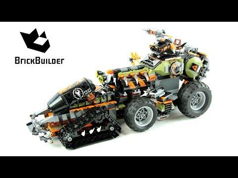 Lego Ninjago 70654 Dieselnaut Lego Speed Build Youtube