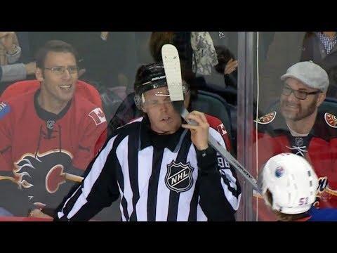NHL Sticks Stuck