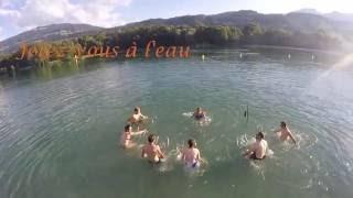 Aquabike lac de Passy
