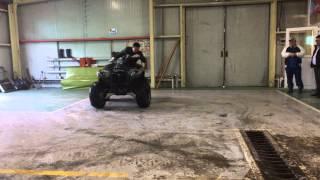 ATV Quad bike drift