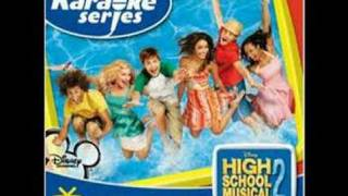 High School Musical 2 - You Are The Music In Me Instrumental