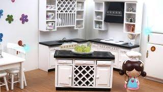 Oyuncak bebeklerime Yeni Eşyalar aldım Minyatür mutfak Bidünya Oyuncak