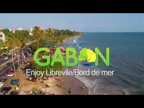 Le bord de mer de Libreville