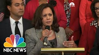 Senator Kamala Harris On DACA: 'We Got To Stop Playing Politics With These Kids'   NBC News