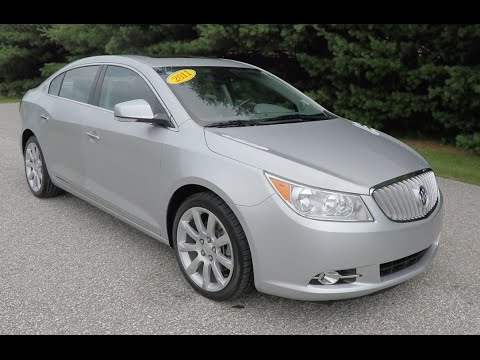 2011 buick lacrosse cxs p10352a youtube. Black Bedroom Furniture Sets. Home Design Ideas