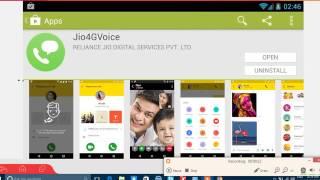 JIOFI calling on pc or laptop