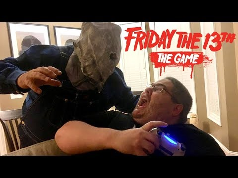 Friday the 13th: The Game (In Real Life!)