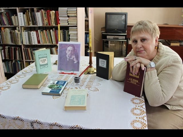 Изображение предпросмотра прочтения – НадеждаЛевыкина читает произведение «Моя она» А.П.Чехова