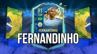 UNRIVALED TOTSSF FERNANDINHO PLAYER REVIEW | FIFA 20 TEAM OF THE SEASON SO FAR