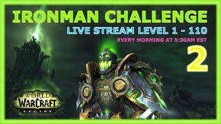 Warcraft (WoW) Ironman Challenge - Level 1 - 20