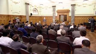 New Zealand Parliament Reception (English)