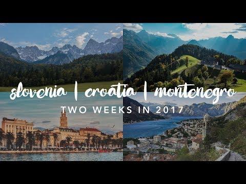 Slovenia, Croatia and Montenegro | Balkans Trip 2017