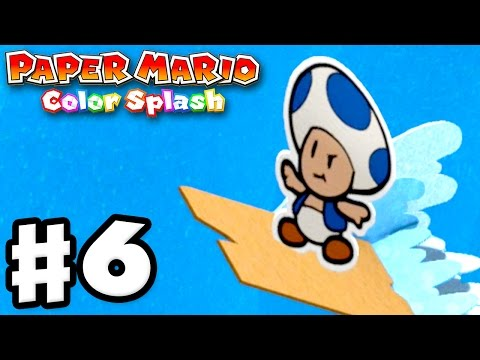 Paper Mario: Color Splash - Gameplay Walkthrough Part 6 - Bl