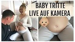 DIE ERSTEN TRITTE VON UNSEREM BABY AUF KAMERA | 17.04.2020 | DailyMandT ♡