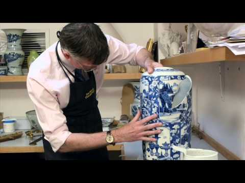 Royal Collection Trust: Restoring Porcelain, Part 3