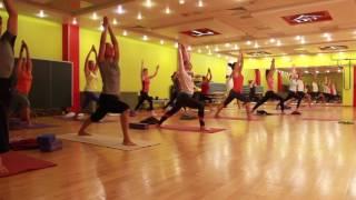 Мастер-класс по йоге в «Фитнес-центр 100%»
