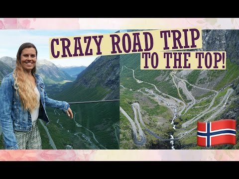 CRAZY ROAD TRIP TO THE TOP OF ALESUND ÅNDALSNES! - NORWAY TRIP DAY FOUR - Ismay Shannon