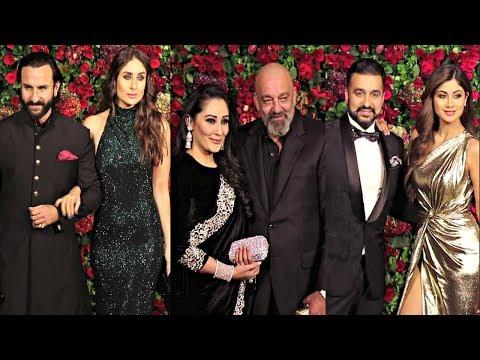 Bollywood Couples At Deepika Padukone And Ranveer Singh Wedding Reception Mp3