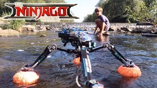 Lego Ninjago Water Strider - Does It Float on the Water?
