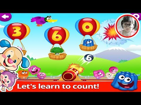 Laugh and Learn -  Funny Food Math Kids Number game for Toddler - Learn Food & Number with BongKidTV