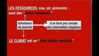 POURQUOI DES POLITIQUES CLIMATIQUES?