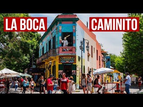 """Exploring """"Caminito"""" La Boca & El Ateneo  Buenos Aires 🇦🇷   Travel Vlog [4K]"""