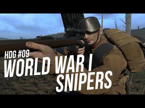 SNIPERS DA PRIMEIRA GUERRA MUNDIAL | WWI SNIPERS - Histórias de Guerra 09