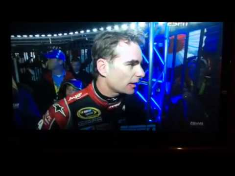 Jeff Gordon Brad Keselowski fight