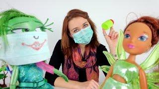 Видео для девочек.  Брезгливость, Лейла и маски от простуды