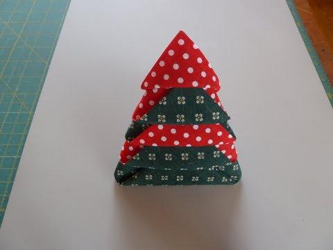How To Fold Napkin Into Christmas Tree.Christmas Tree Napkin Fold