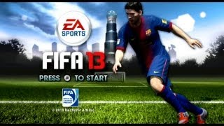FIFA 13 GAMEPLAY (PC) MANCHESTER CITY VS MANCHESTER UNITED