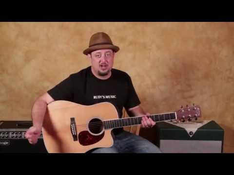Acoustic Blues Chord Progression